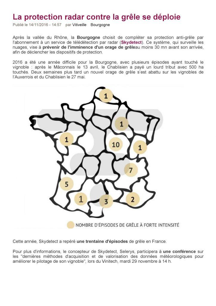 Mon-viti publie un article sur Selerys, PRESSE : MON-VITI publie un article sur Selerys!