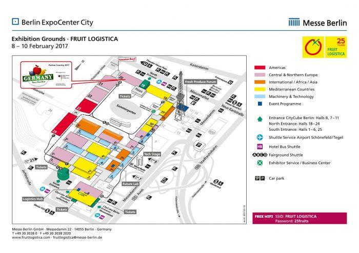 Meet Selerys At The Fruit Logistica Fair In Berlin - Berlin map 2017