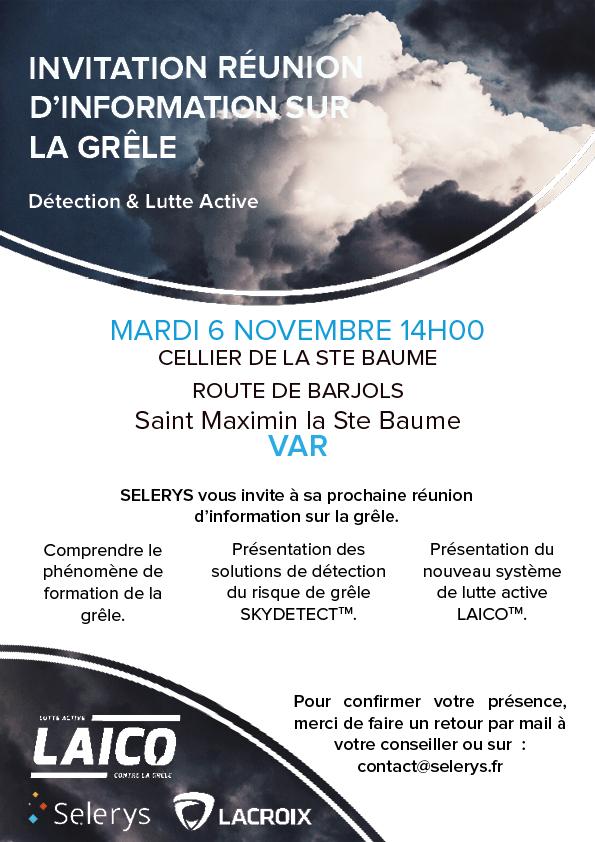 var, Événement : RDV le 6 novembre à Saint-Maximin-la-Sainte-Baume dans le VAR !